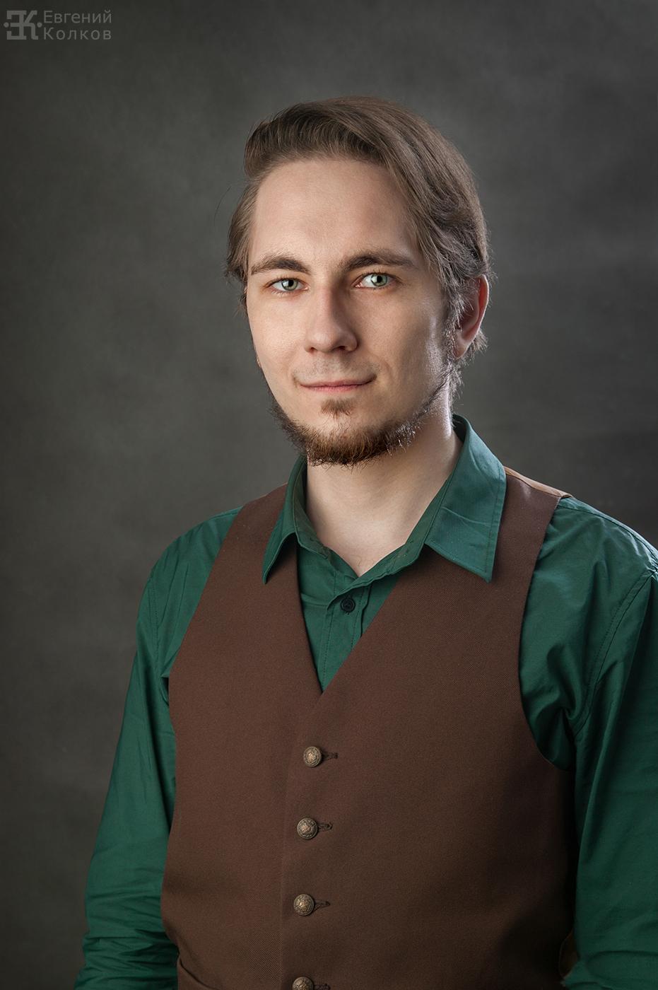 Портретная фотосъемка в студии. Фото: Евгений Колков