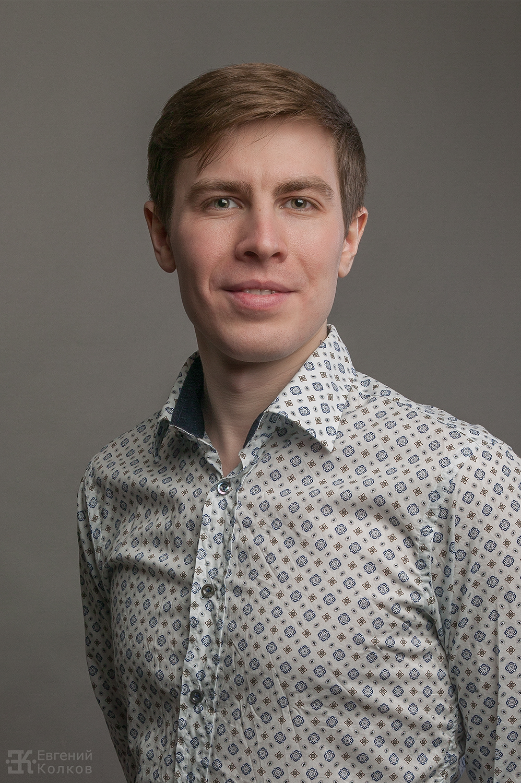 Съемка делового портрета. Фото: Евгений Колков