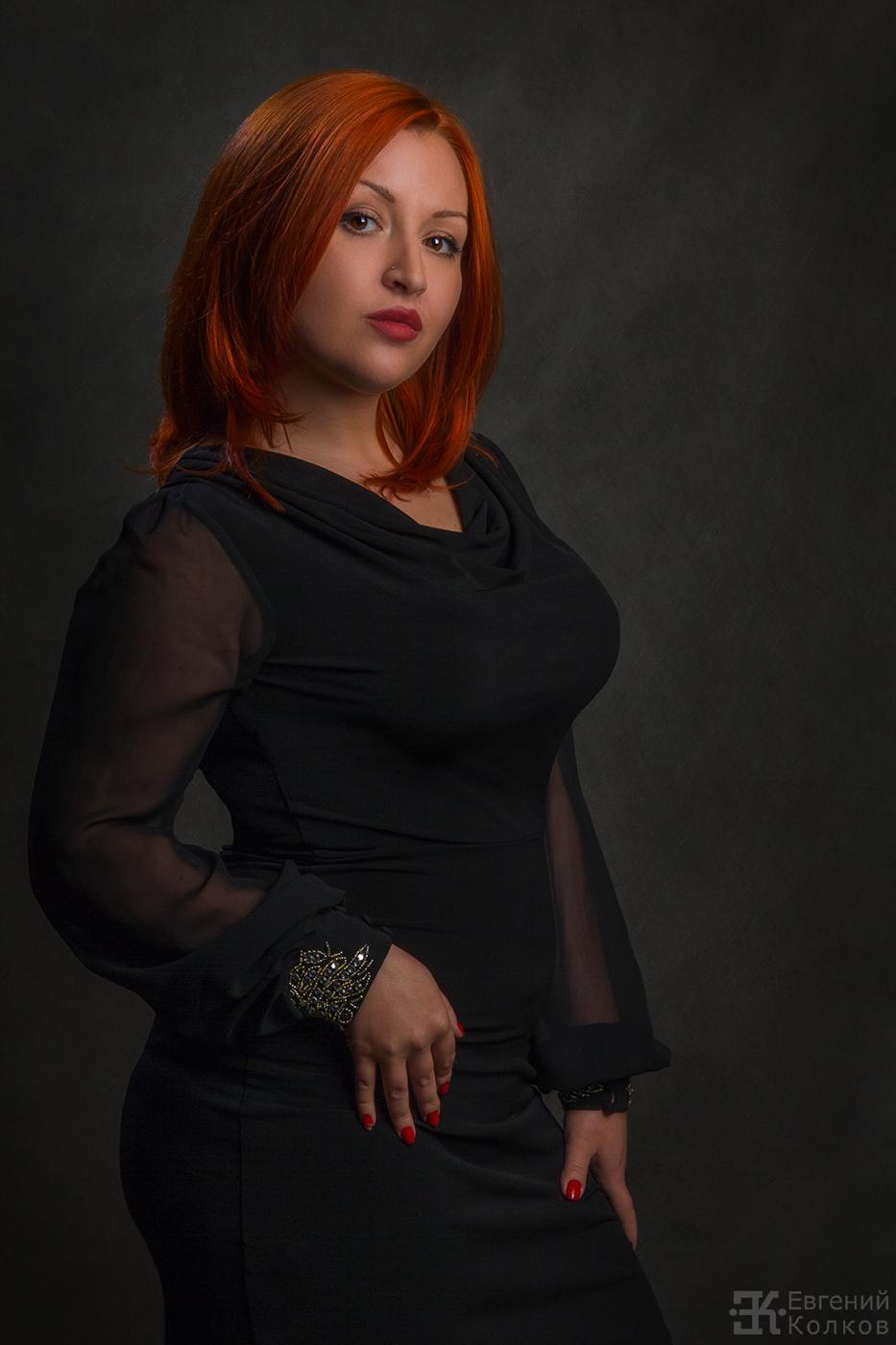 Женский фотопортрет. Фото: Евгений Колков