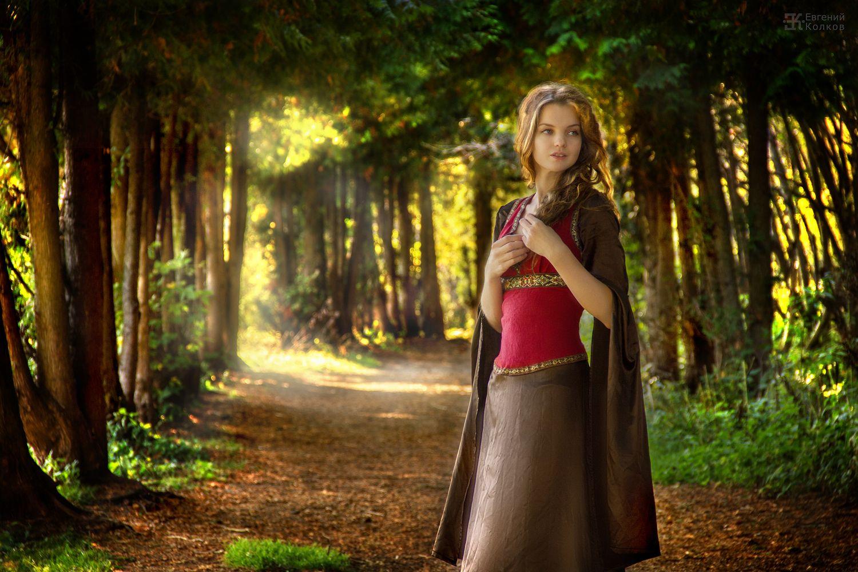 Фотосессия в лесу. Фото: Евгений Колков
