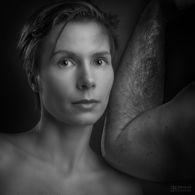 Студийная съемка. Фотограф: Евгений Колков